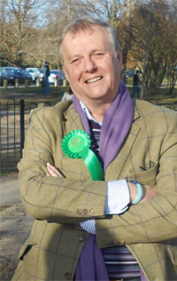 Richard Barrington - Parliamentary Candidate for North Dorset Green Party